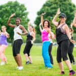 FREE Zumba on the Devon Lawn