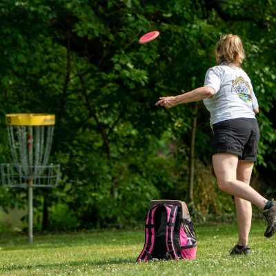 Oklahoma Christian University Disc Golf Course