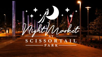 Night Market at Scissortail Park