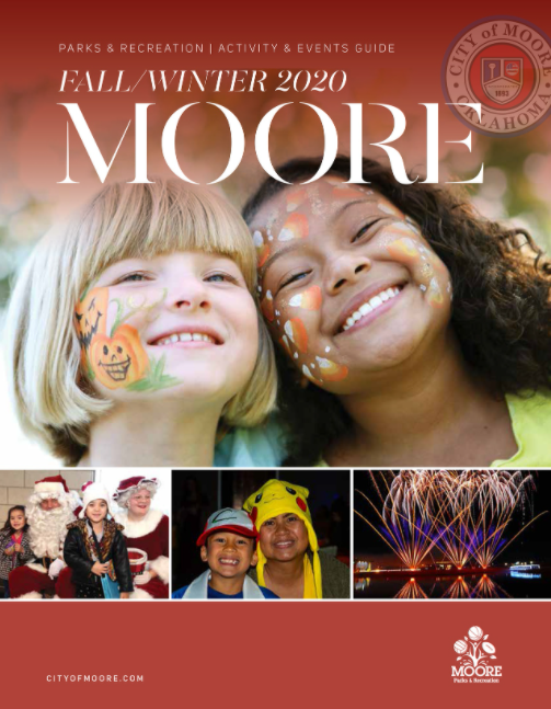 City of Moore Parks and Rec Fall/Winter 2020 Activ...