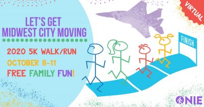 FREE 2020 Let's Get Midwest City Moving! 5K Walk/Run