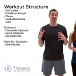 FREE Virtual 1000 Calorie Workout - 90 Minute Strength, HIIT, Pilates, Kickboxing, and Core Workout