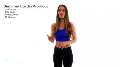 FREE Virtual Low Impact Cardio Workout for Beginne...