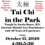 Tai Chi in the Park