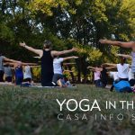 Yoga in the Park Info Session at Myriad Gardens