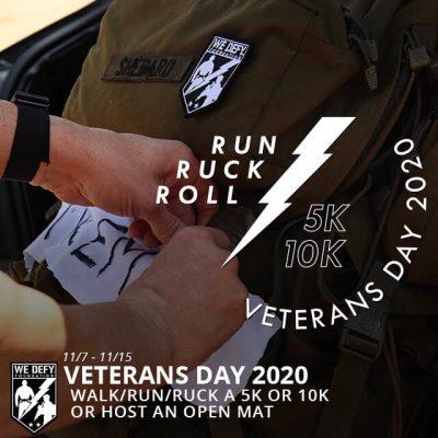Veterans Day 5k Ruck