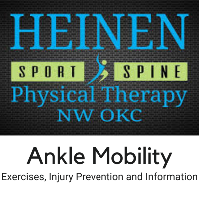 Ankle Mobility Exercises, Injury Prevention and In...