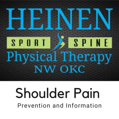 Shoulder Pain Prevention and Information