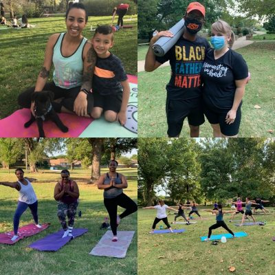 Yoga in the Park with OKC Beautiful