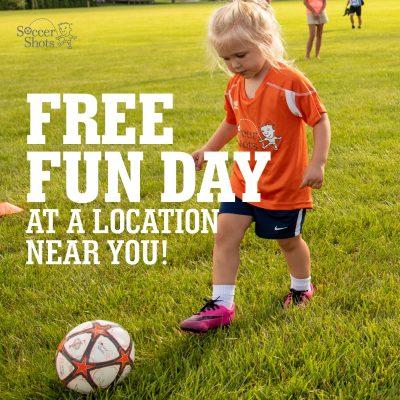 Soccer Shots Free Fun Day - Mitch Park