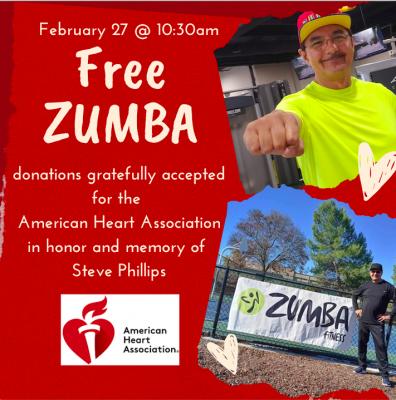 Zumba Fundraiser for American Heart Association