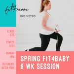 Fit4Baby Session