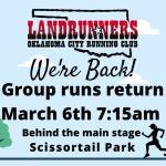 Scissortail Park Run