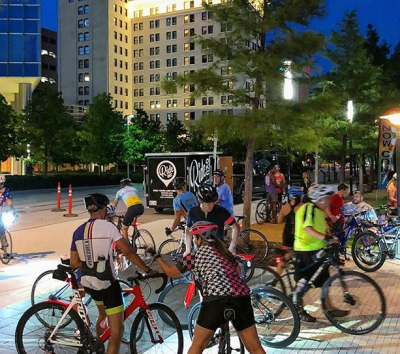 #FullMoonOKC Bike Ride Sponsored by OU Health