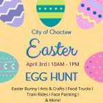 City of Choctaw Easter Egg Hunt