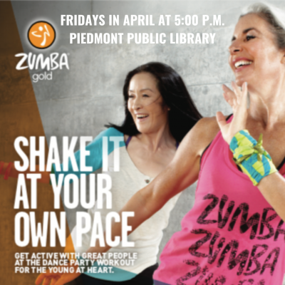 Free Zumba Gold ® at the Piedmont Public Library