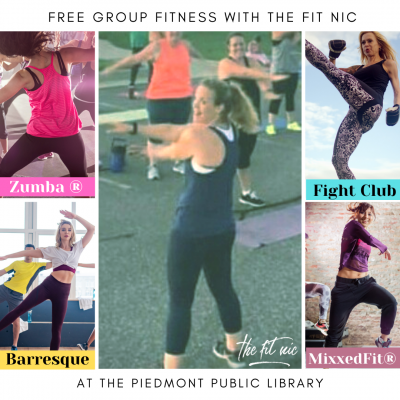 Free Group Fitness with The Fit Nic at the Piedmon...