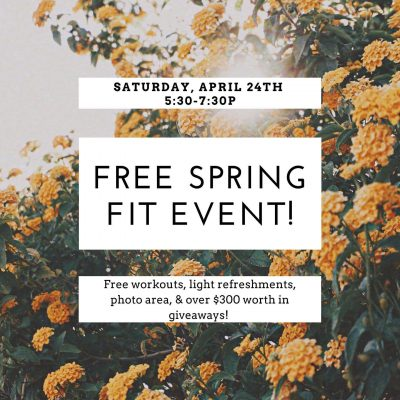 Free Spring Fit Event