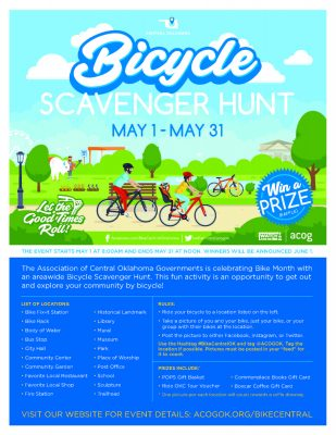 Bicycle Scavenger Hunt