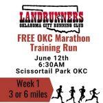 OKC Running Club's Memorial Marathon Training