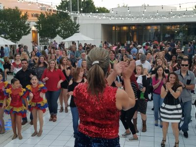 Dancing in the Gardens featuring the Salsa!