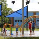 Memorial Park Splash Pad