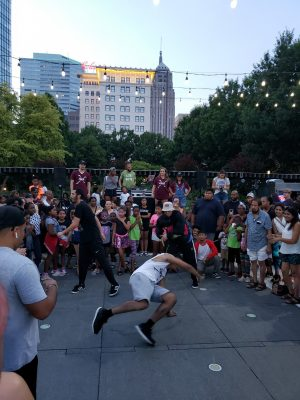 Dancing in the Gardens featuring 90's Hip Hop