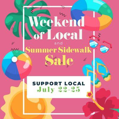 Norman Summer Sidewalk Sale!