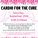 Cardio for the Cure