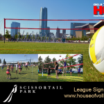 OKC Outdoor Volleyball Leagues at Scissortail Park