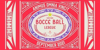 Kerr Park Bocce Ball League 2021