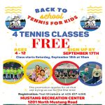 Back to School Tennis for Kids