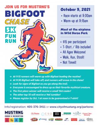 Bigfoot Chase 5K Fun Run