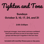 Tighten and Tone